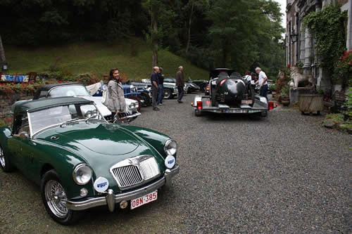 classic car rally
